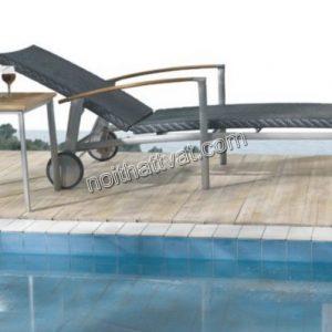 Ghế hồ bơi giả mây TB 015