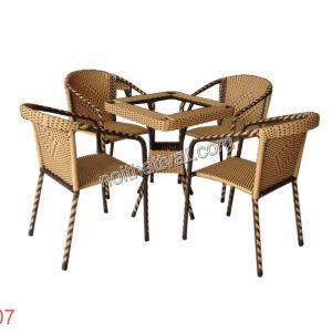Bàn ghế cafe TF 007