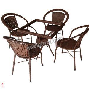Bàn ghế cafe TF 011