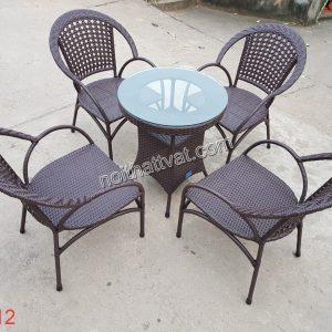 Bàn ghế cafe TF 012