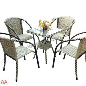 Bàn ghế cafe TF 018