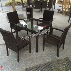 Bàn ghế cafe TF 019