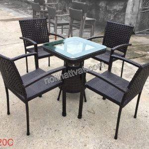 Bàn ghế cafe TF 020