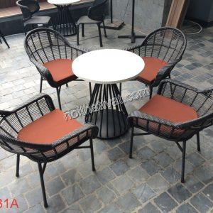Bàn ghế cafe TF 031