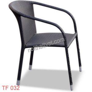 Bàn ghế giả mây TF 032