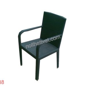 Bàn ghế mây nhựa 038