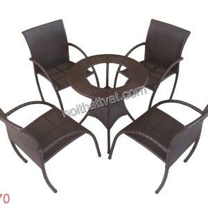 Bàn ghế cafe TF 070