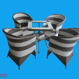 Bàn ghế cafe TF 105