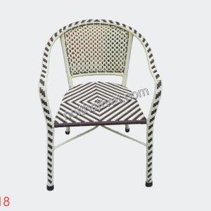 Bàn ghế mây nhựa TF 118