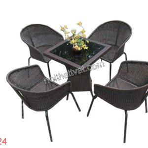 Bàn ghế cafe TF 124