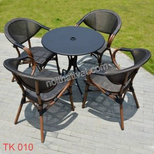 Bàn ghế nhập khẩu TK 010