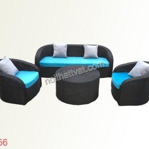 Sofa giả mây đẹp TV 056