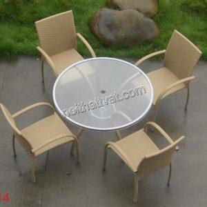 Bàn ghế cafe TF 014