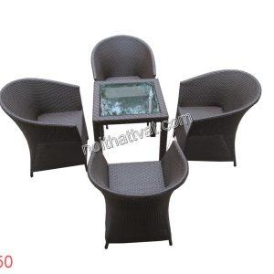Bàn ghế cafe TF 050