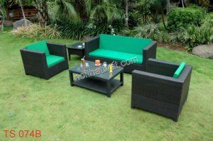 Lựa chọn ghế sofa mây phù hợp với không gian sử dụng