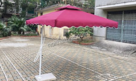 Mua ô che mưa hà nội làm quảng cáo hiệu quả