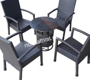 Nên hay không việc dùng bàn ghế mây nhựa giá rẻ?