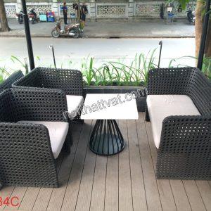Bàn ghế sân vườn cafe được ưa chuộng ngày càng nhiều