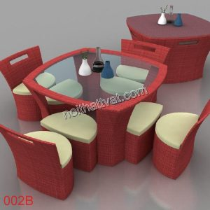 Chọn mẫu cho bàn ghế phòng bếp của bạn