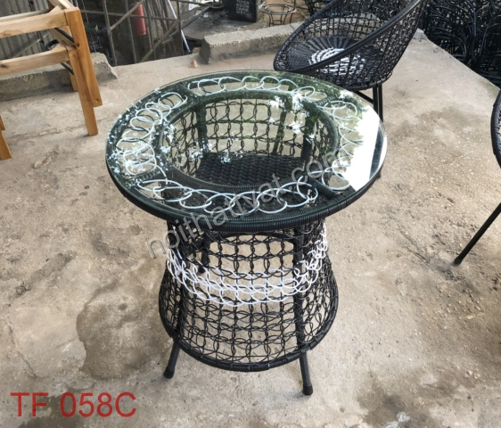 Kết cấu đơn giản, ghế mây đem đến sự thoải mái cho người dùng