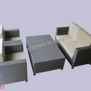 Ghế sofa giả mây nên sử dụng trong điều kiện bình thường