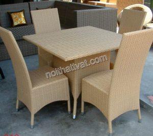 Top các cách dùng, bảo quản bàn ghế mây nhựa đan hiệu quả nhất