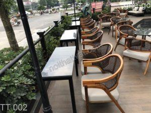 Mách bạn cách vệ sinh bàn ghế cafe giả mây đảm bảo bền đẹp