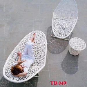 Ghế hồ bơi nhập khẩu TB 049