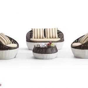 Bàn ghế sân vườn TV069