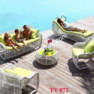 Bàn ghế sân vườn TV 072