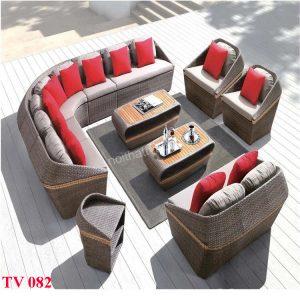 Bàn ghế sân vườn TV 082