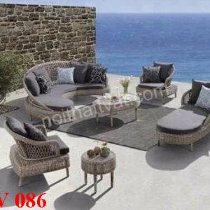 Bàn ghế sân vườn TV086