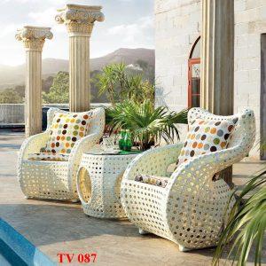 Bàn ghế sân vườn TV 087