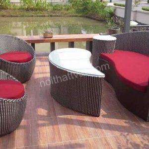 Bàn ghế sân vườn TV 097
