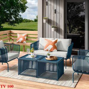 Bàn ghế sân vườn TV 100